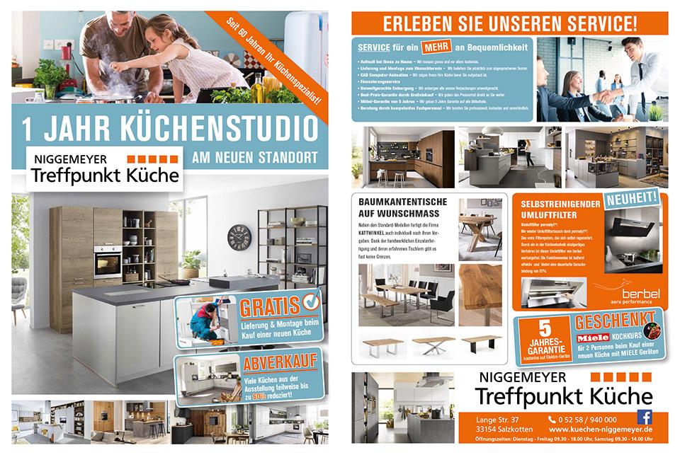 Küchenstudio Paderborn Küchen   Niggemeyer Treffpunkt Küche ...
